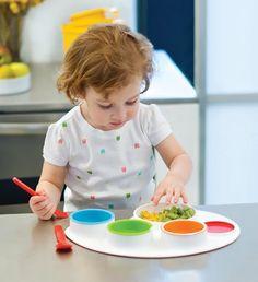 Skip Hop Palette Plate- Kids Feeding Set