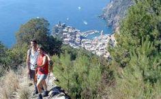 Trail above Vernazza, 5 terre