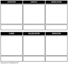 The fault in our stars summary a common use for storyboard that plot diagram template ccuart Image collections