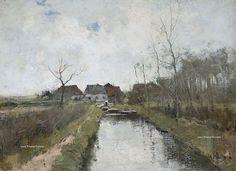 Anton Mauve, El realismo holandés