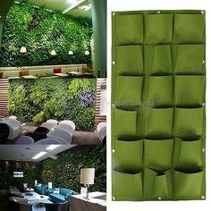 1x Pflanzen Tasche Wand Pflanztasche Pflanzbeutel Pflanzsack Blumentasche