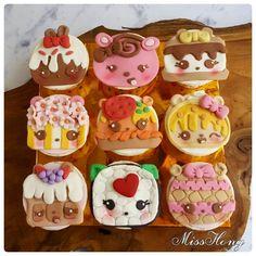 Nom nom cupcakes