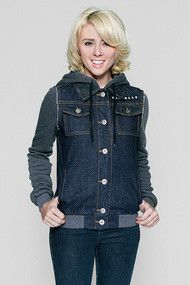 Glamour Kills Girls The Wiz Kid Denim Jacket