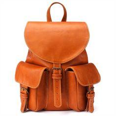 Sac à dos en cuir Quirimbas pour aller avec mon sac de voyage <3