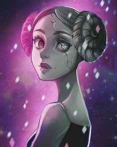 Pink diamond 💎💎 Steven S, Pearl Steven, Steven Universe Pink Pearl, Steven Universe Anime, Perla Steven Universe, Universe Art, Malachite Steven Universe, Pearl White, Pink White