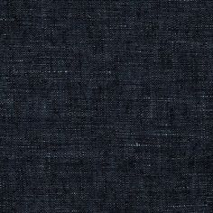 Kaufman Linen Indigo Chambray Indigo Fabric