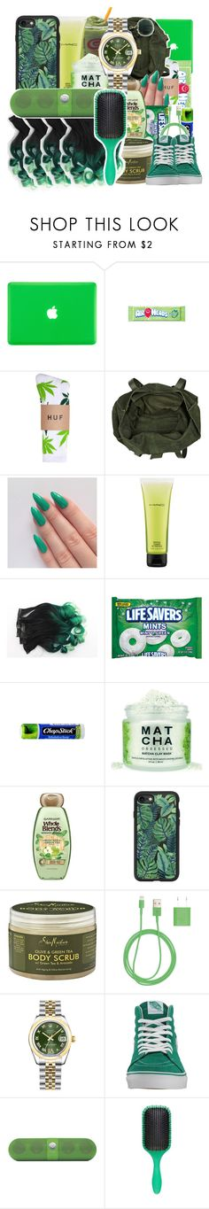 """""""green premade"""" by savagebxtch24 ❤ liked on Polyvore featuring interior, interiors, interior design, home, home decor, interior decorating, HUF, River Island, MAC Cosmetics and Chapstick"""