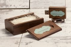 USB Flash Drives for Photographers - Wooden USB Boxes