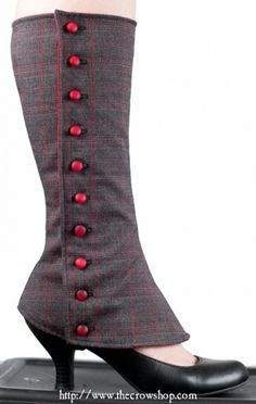 spats! I want to make some! An awesome dressed ...