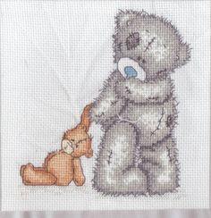 Me to You Tatty Teddy Birth Cross Stitch Kit New Baby Design for 2012 Tatty Teddy, Teddy Bear, Cross Stitch Baby, Cross Stitch Patterns, Embroidery Stitches, Embroidery Designs, Heart Patterns, Baby Design, New Baby Products
