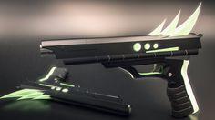 Sci-fi Gun by AH-Kai on DeviantArt