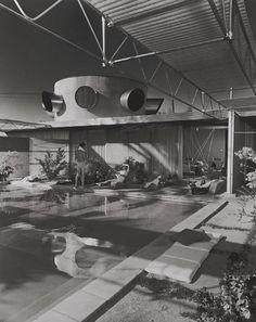 Frey House, 1953 Palm Springs, CA / Clark  Frey, architects © Julius Schulman
