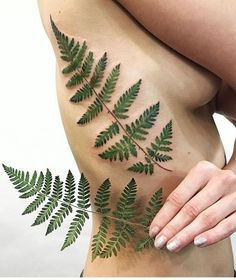 Rita Kit fern tattoo