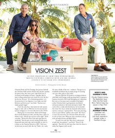 MIAMI Modern Luxury April 2014Thank you Diana Riser, Luis Rigual, Drew Limsky and Edison D. Lozada for featuring us and our friend and muse Erin Michelle Newberg in the new issue of Miami Magazine Modern Luxury. #30spectacularyears #ChristianRoth #EricDomege #Eyewear www.christian-roth.com