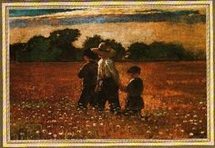"Winslow Homer's ""In the Mowing"" - My favorite in the Wichita Art Museum's permanent collection."