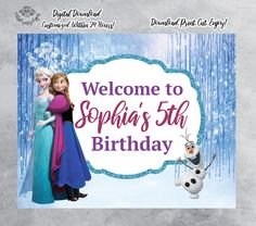 Your place to buy and sell all things handmade Toy Story Cake Toppers, Toy Story Cakes, Frozen Birthday Sign, Girl Birthday, Frozen Centerpieces, Frozen Crafts, Frozen Party, Frozen Frozen, Frozen Cake Topper