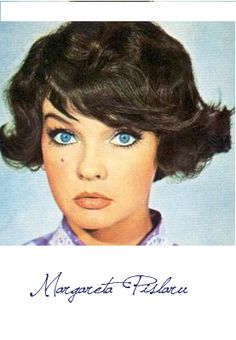 Romanian Singer And Actress Margareta Pislaru City People, Vintage Pictures, Style Icons, Fashion Beauty, Vintage Fashion, Singer, Actresses, Actors, Beautiful