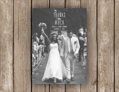 Thanks So Much Wedding Thank You Post Card (Custom & Printable)