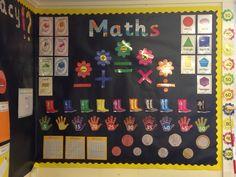 Maths display Year 1