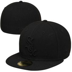Chicago White Sox New Era Tonal 59FIFTY Fitted Hat - Black