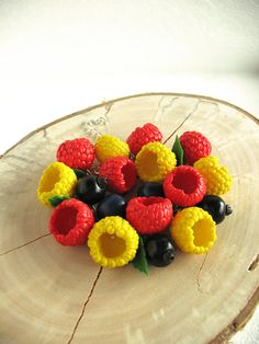 Bracelet Berry abundance Cha cha charm Jewelry with berries