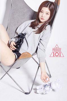 IOI - Jung ChaeYeon #정채연 #채연 (MBK) p101 promotional photo #프로듀스101