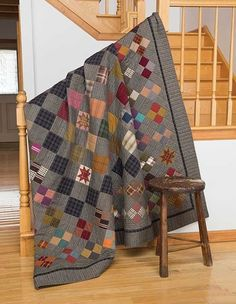 Grandpa George's Cabin Quilt Kit