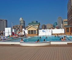 Liberty Harbor Swim Club | Luxury apartment rentals in Jersey City