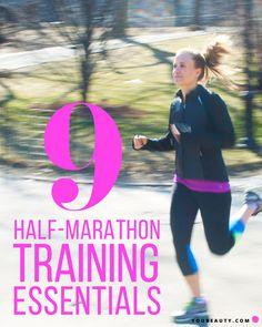 9 Half-Marathon Training Essentials We Can't Live Without