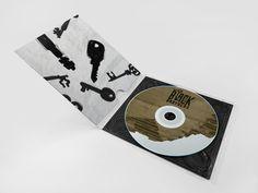 The Black Keys Album Art by Grant Burke, via Behance