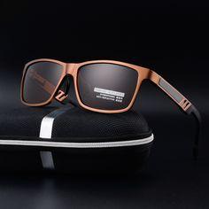 5f60b86eef Aluminum magnesium polarized sunglasses men Brand designer sunglasses The driver  sunglasses driving glasses lens oculos de