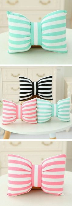 bowknot pillows: