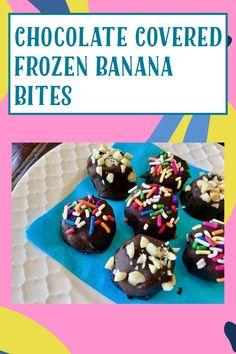 Chocolate Drip, Vegan Chocolate, Melting Chocolate, Chocolate Recipes, Big Ice Cream, Chocolate Covered Bananas Frozen, Frozen Banana Bites, Piece Of Cakes, Gluten Free Baking