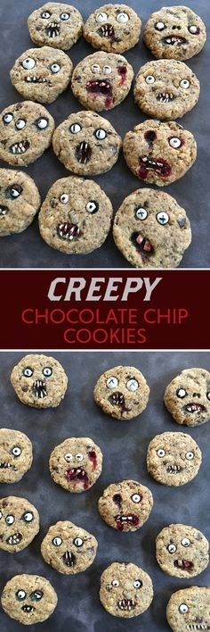 Creep out your friends with these cookies at your Halloween party!