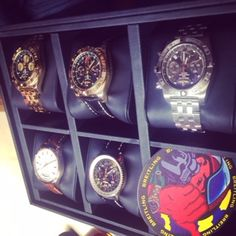 A taster of the Breitling collection. #LivefromBaselworld2015