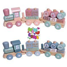 """Gefällt 306 Mal, 9 Kommentare - Baby & Kinder (@mikuliniii) auf Instagram: """"Ri Ra Rutsch, wir fahren mit der Kutsch Ri Ra Rutsch, wir fahren mit der Eisenbahn...🚂🚂 Unsere…"""" Mini Me, Baby Kind, Html, Gifts, Laser Engraving, Personalized Gifts, Woodworking Toys, Presents, Favors"""