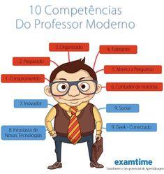 10 competências do professor moderno