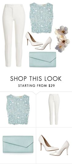 """""""Light blue"""" by skye1246 ❤ liked on Polyvore featuring Lace & Beads and Joseph"""
