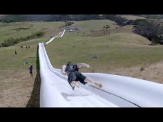 The World's Longest Waterslide! By Live More Awesome - YouTube