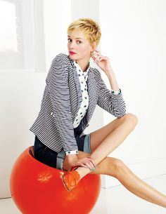 Summer Jersey Blazer Jackets at Boden. Love the stripes, polka dots and love the orange loafers! Summer Blazer, Fairytale Fashion, Polka Dot Shirt, Polka Dots, Striped Jersey, Striped Jacket, How To Make Shorts, Fashion Story, Spring Summer Fashion