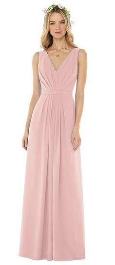 Sleeveless V-Pleat Sheer Crepe Dress #bridesmaiddressesideas #ad #weddingbridesmaiddresses #bridesmaidsdresses Mix Match Bridesmaids, Taupe Bridesmaid Dresses, Grey Bridesmaids, Popular Wedding Colors, Bridesmaid Inspiration, Wedding Inspiration, Gowns Of Elegance, A Line Gown, Special Occasion Dresses