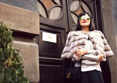 MY SMALL GUIDE TO `CHIC` - Atelier PAISI Fur Coat, Street, Chic, Spring, Jackets, Fashion, Atelier, Shabby Chic, Down Jackets