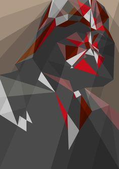 """Dark lord  by Liam Brazier  ART PRINT / MINI (8"""" X 10"""")  $20.00"""