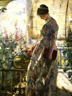 Summer Afternoon ,Lillian Mathilde Genth  c.1910