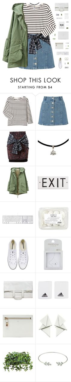 """TELL ME WHAT TO DO"" by c-hristinep ❤ liked on Polyvore featuring Margaret Howell, Miss Selfridge, 3.1 Phillip Lim, Rosanna, Converse, Topshop, Maison Margiela, Acne Studios, adidas and Tom Ford"