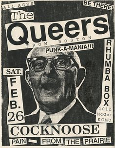 The Queers & Cocknoose at Rhumba Box