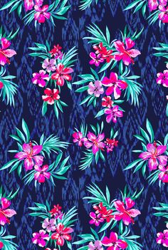 Marisa Hopkins | Tropical  print used on a range of playsuits, dresses and swimwear for Very Spring/Summer 2014 | www.very.co.uk