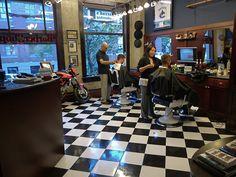 Farzad's Barber Shop ~ Vancouver, BC #barbers #barbershop #barbering #barberlife