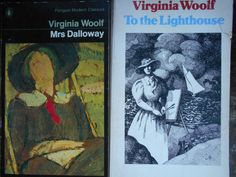 Book Bundle. Virginia Woolfs Mrs. Dalloway and To the Lighthouse. Paperbacks. Mrs. Dalloway Penguin Paperback: good vintage condition, strong spine, tight binding, one stamp in front page otherwise clean interior, some fading To the Lighthouse: good vintage condition, strong spine, tight binding, one stamp in front page otherwise clean interior, tear on front cover.