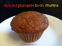 Here's an easy, healthy and yummy muffin recipe made with pumpkin to get you excited for Fall!